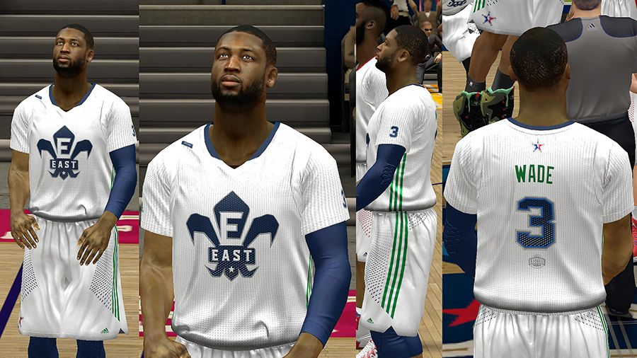 9c01d3b0e240 This jersey patch for NBA 2K14 PC contains modded 2014 jerseys for both  East and West All-star teams. It also includes two white jerseys to utilize  the ...