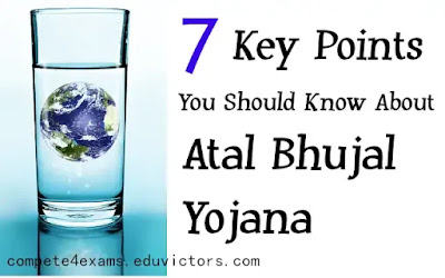 7 Key Points You Should Know About Atal Bhujal Yojana (#GovernmentSchemes)(#eduvictors)(#compete4exams)