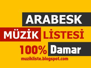 Arabesk Damar Listesi