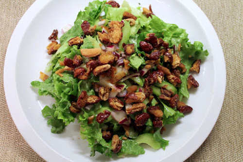Bacon and Roasted Bean Salad