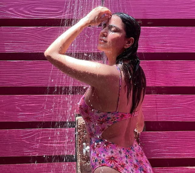 Shraddha Arya is Raising Temperatures with her Racy Pictures Under a Shower