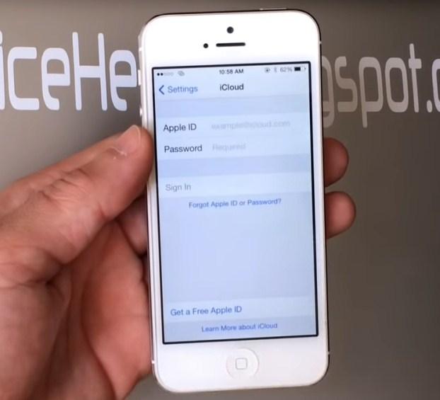 Hapus Lupa iCloud iPhone 5s FMI OFF Open Menu Tanpa Jailbreak Via Remote Online