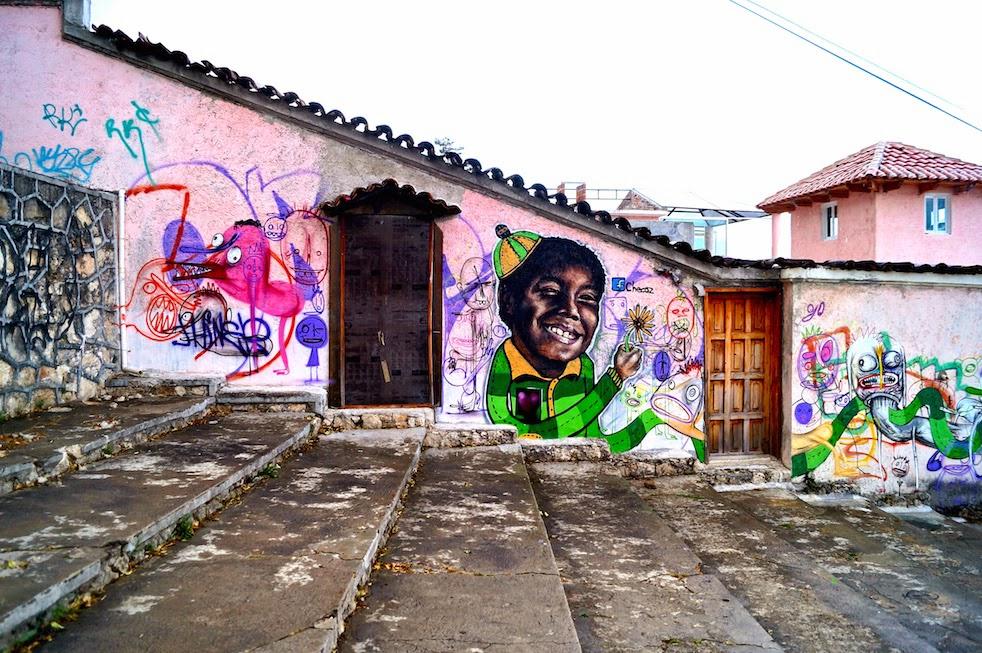 Voces Urbanas: Por Checoz en el Cerrito de San Cristóbal.