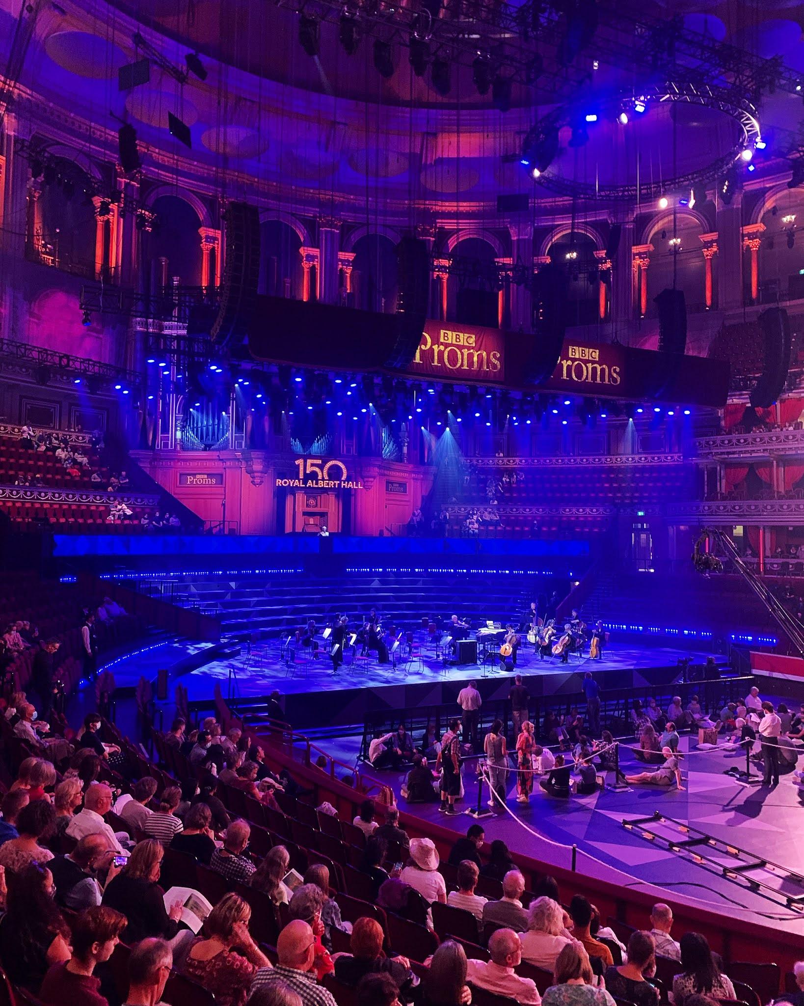 BBC Proms 2021 at the Royal Albert Hall - London lifestyle blog
