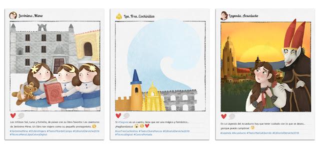 Ilustraciones infantiles - Segovia de cuento