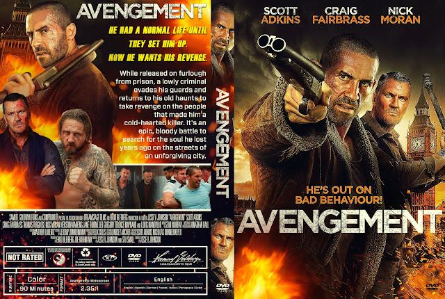 Avengement DVD Cover
