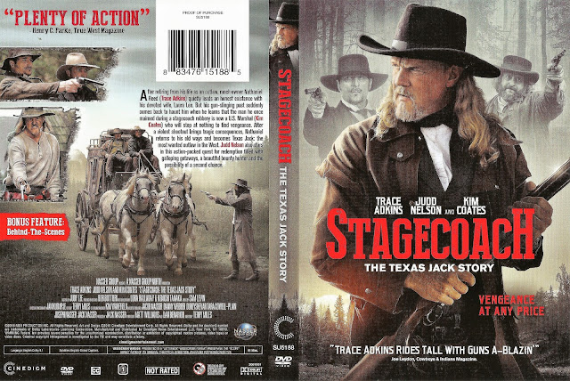 Stagecoach: The Texas Jack Story DVD Cover