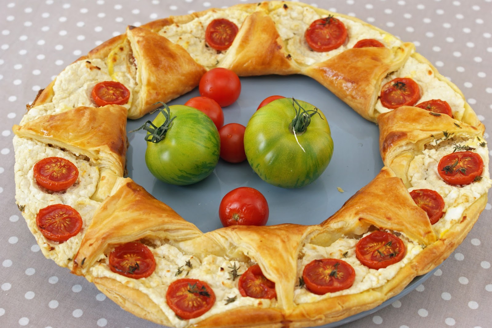 Afternoon Tea Tarte Couronne Tomate Et Chevre
