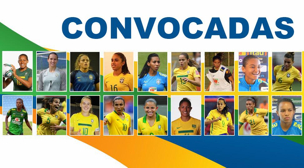 Convocadas as 18 jogadoras olímpicas do Futebol Feminino ~ O Curioso ... 4a93217d34123