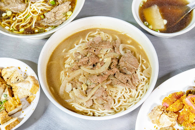 MG 0457 - 百里香牛肉麵,台中科博館附近隱藏版牛肉麵,牛肉大塊湯頭清爽不油膩,晚來吃不到!