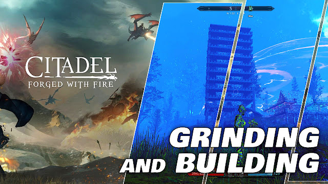 My Stone Tower, Grinding and Building! CITADEL: FORGED with FIRE (on Low End PC)