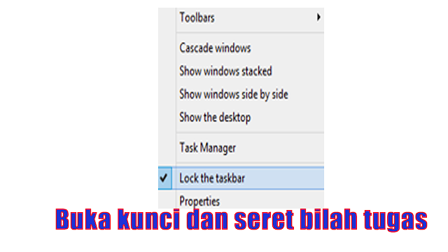 cara memindahkan Start Menu Windows 10