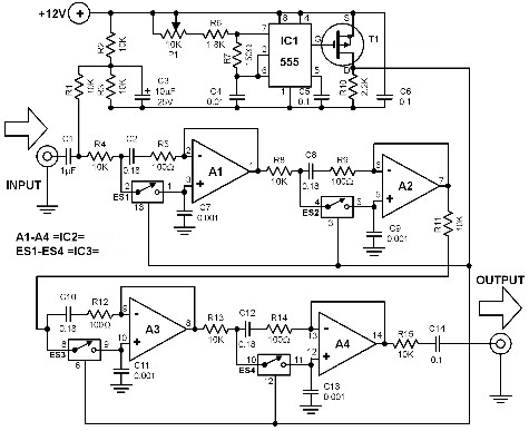 tunable-filter-circuit-diagram