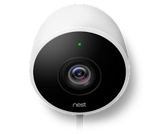 image of nest outdoor cam front view
