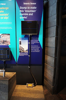 Frank Slide Interpretive Centre Display