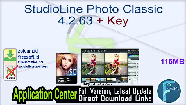 StudioLine Photo Classic 4.2.63 + Key_ ZcTeam.id