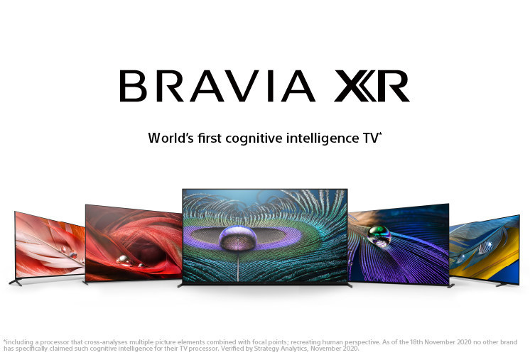 "Sony Electronics Announces New BRAVIA XR 8K LED, 4K OLED and 4K LED Models with New ""Cognitive Processor XR"""