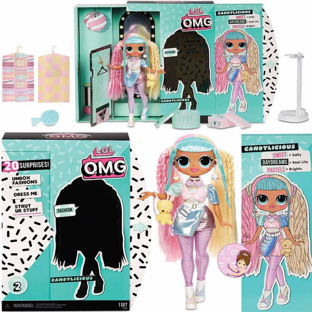 Candylicious L.O.L. Surprise O.M.G. fashion doll from series 2 wave 1