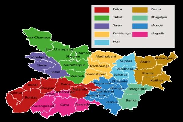 बिहार का भूगोल - geography of bihar in hindi