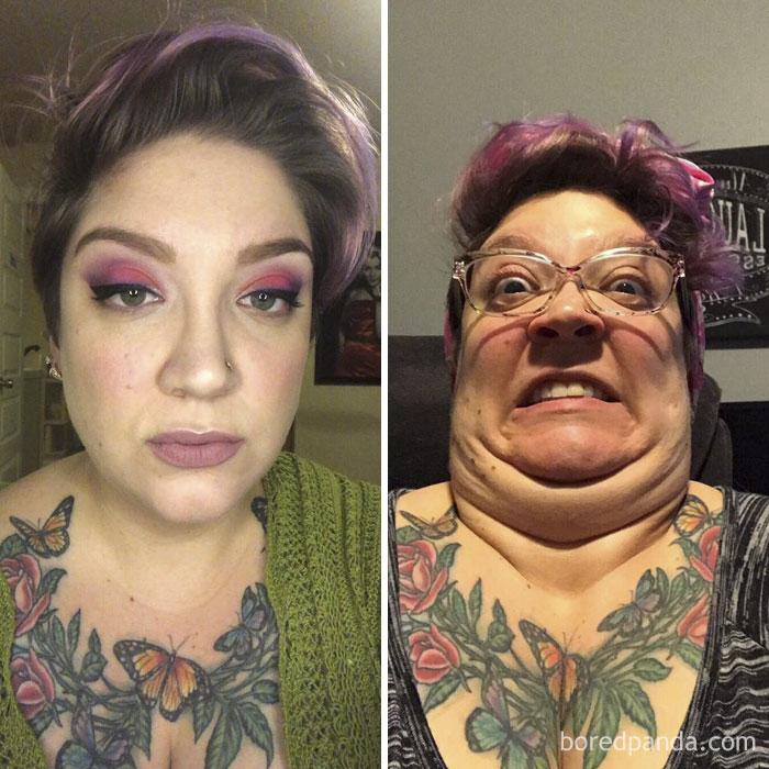 30 αστείες φωτογραφίες πριν και μετά που θα δυσκολευτείτε να πιστέψετε ότι πρόκειται για το ίδιο άτομο 85