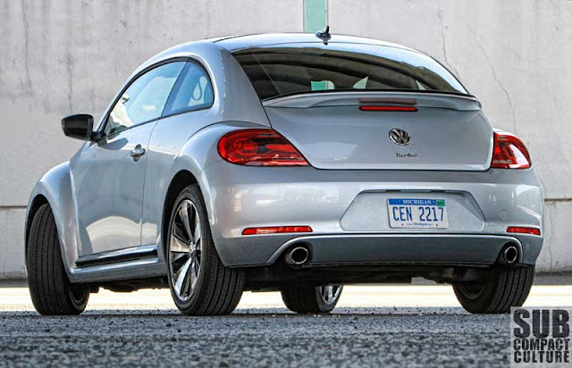 2012 Volkswagen Beetle Turbo rear