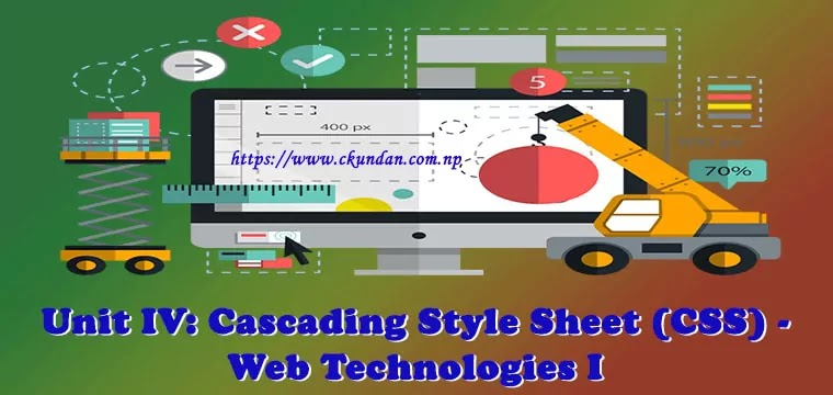 Cascading Style Sheet (CSS) - Web Technologies I