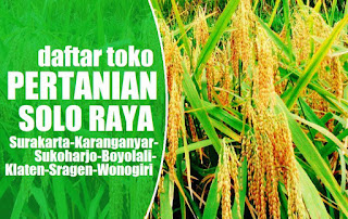 Daftar Toko Pertanian Solo Raya