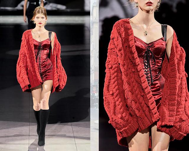Dolce & Gabbana осень-зима 2020-2021 6