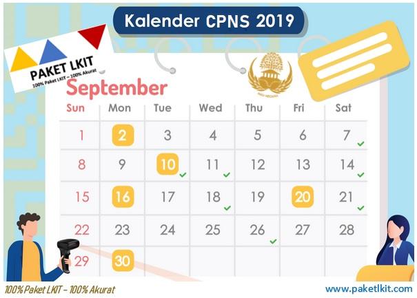 Kalender CPNS