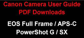 Canon EOS / PowerShot Camera PDF User Guide Downloads