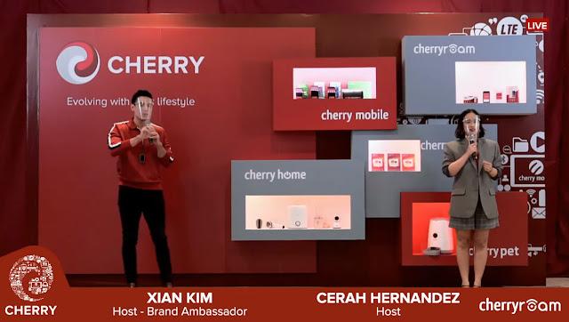 Xian Lim Cherry Mobile, Cerah Hernandez, One Cherry One Ecosystem