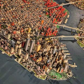 The Panorama of the City of New York, Queens Museum