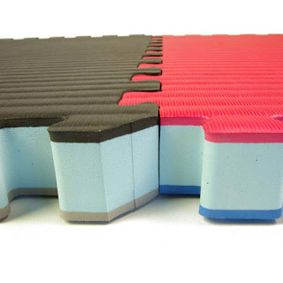 Greatmats install foam flooring tiles interlocking