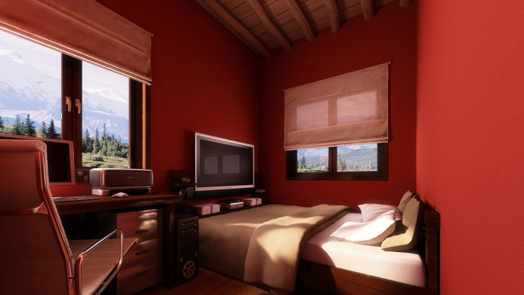 Decoration Ideas For A Bedroom With Maroon Walls