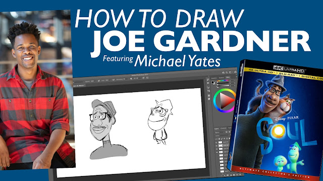 How to Draw Joe Gardner from Soul