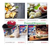 Logo Vileda ''Vivi made in Italy'': come richiedere voucher esperienze (regalo certo)