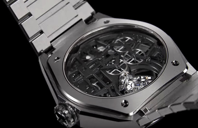 Back case of the new Zenith Defy Zero G