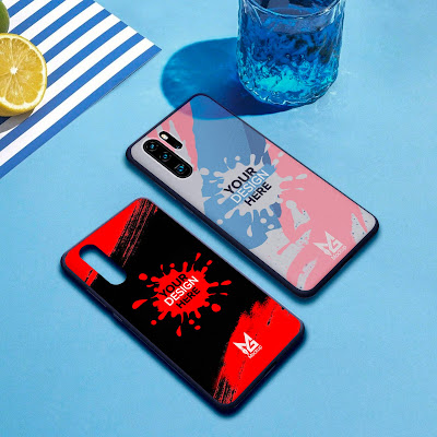 Mockup Blackmatte Case Huawei P30 dan P30 Pro