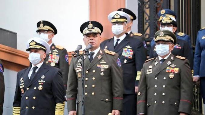 """Venezuela: """"Coherente con su legado histórico de libertad"""": El mensaje de Padrino López a la Fanb"""