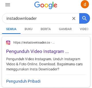 Cara download foto dan video ig