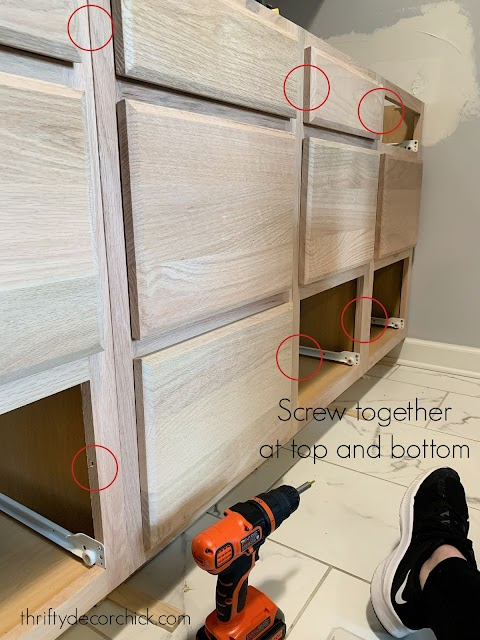 Tips for installing cabinet drawers