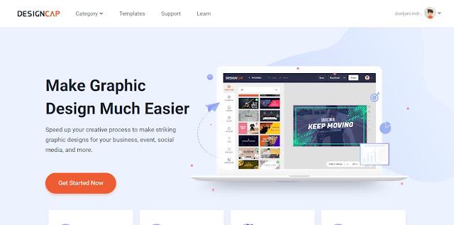 edit gambar online designcap