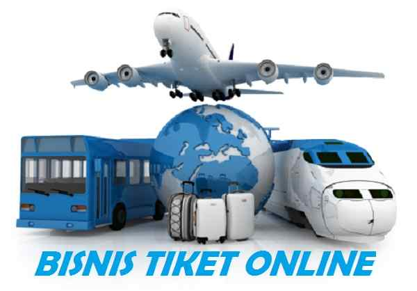 bisnis tiket online tanpa modal menjanjikan