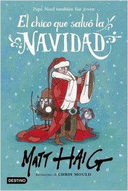 """""""El chico que salvó la Navidad"""" de Matt Haig"""
