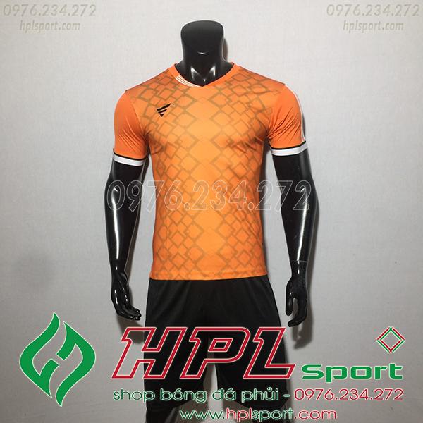 Áo ko logo TA NC màu cam