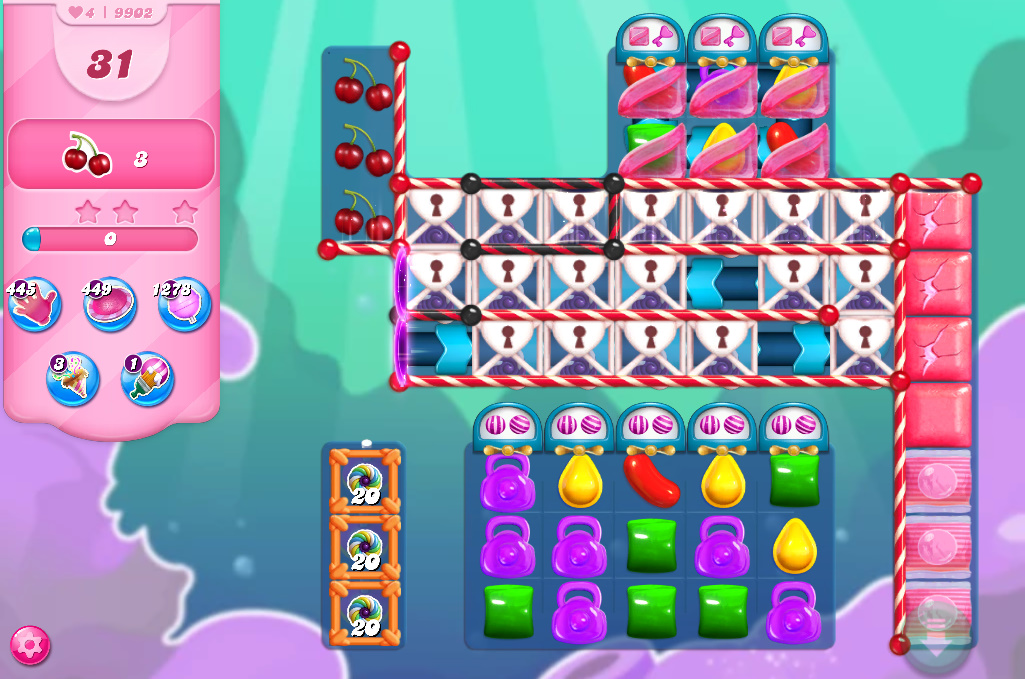 Candy Crush Saga level 9902