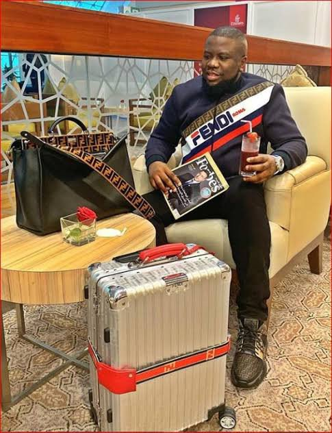 Hushpuppi shows off his $250,000 Richard Mille wrist watch