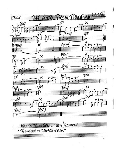 Partitura Violonchelo Jobim