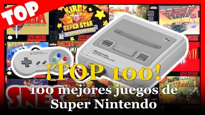 El mejor Top 100 - Los 100 mejores juegos de Super Nintendo