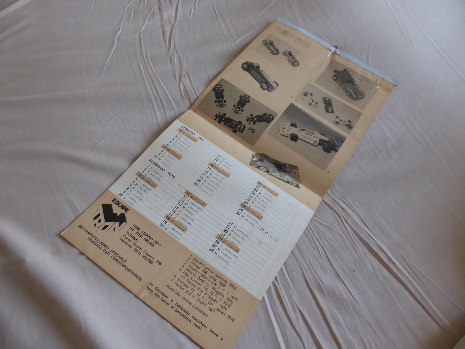 Calendario Del 1979.1 43 E Altro L Equipe Tron E Un Calendario Del 1979